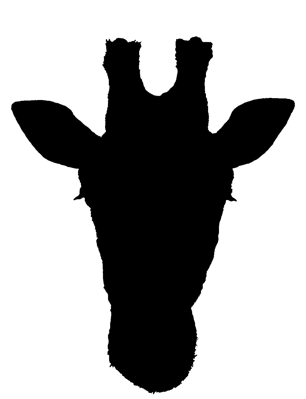 Giraffe Silhouette Clipart - Clipart Kid