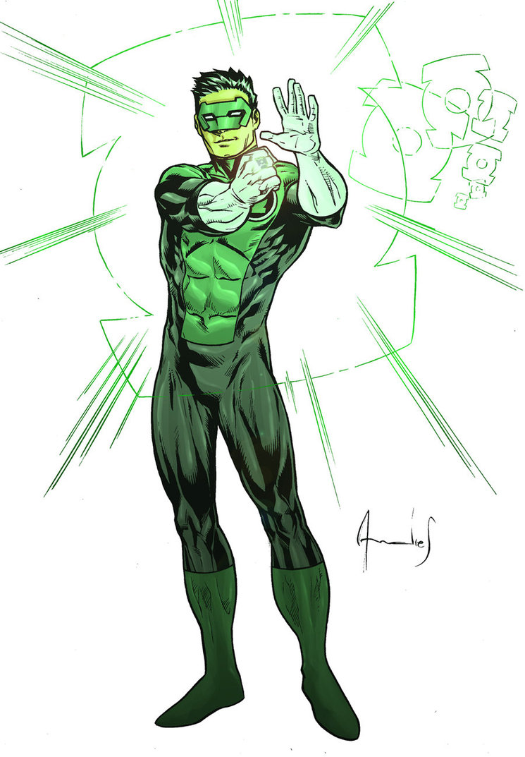 It's just a picture of Canny Green Lantern Clipart