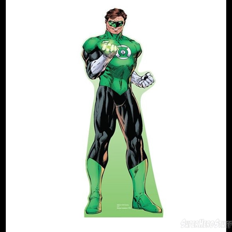 It is a picture of Sizzling Green Lantern Clipart