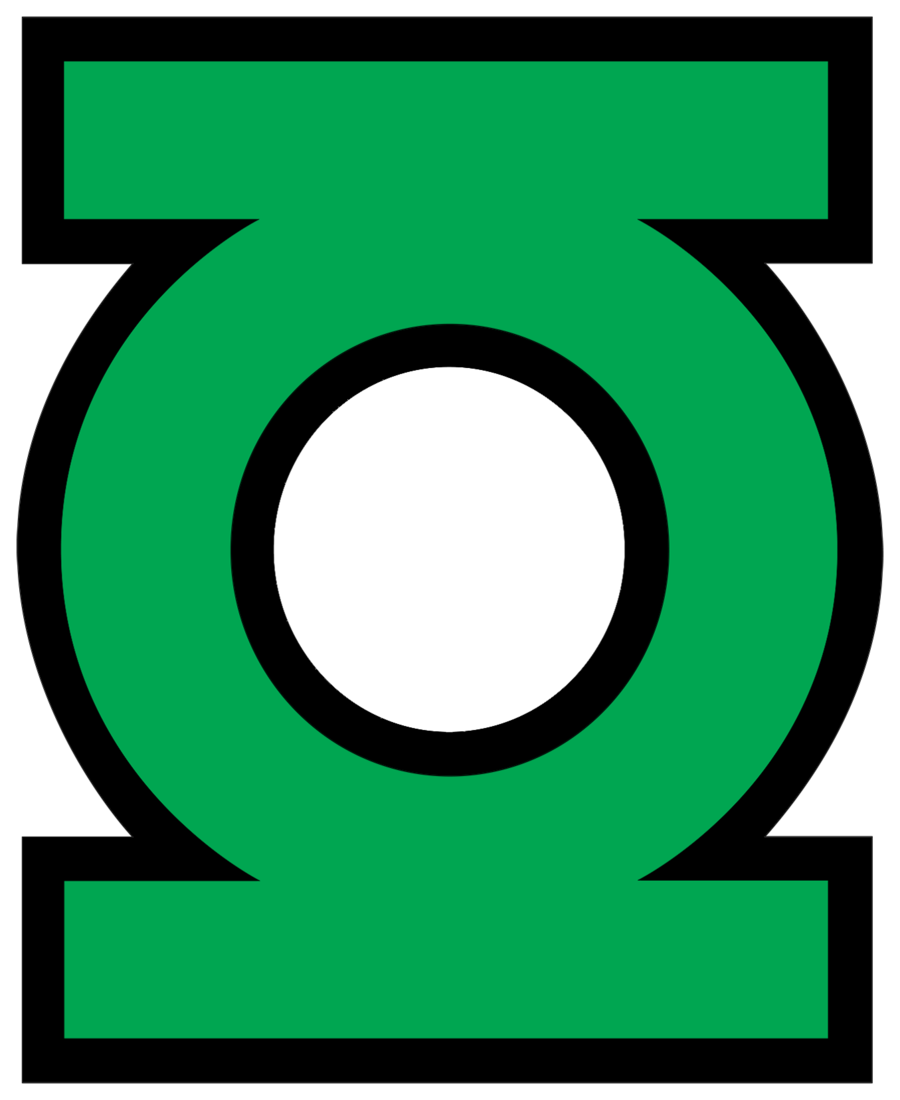 It is a picture of Crush Green Lantern Clipart
