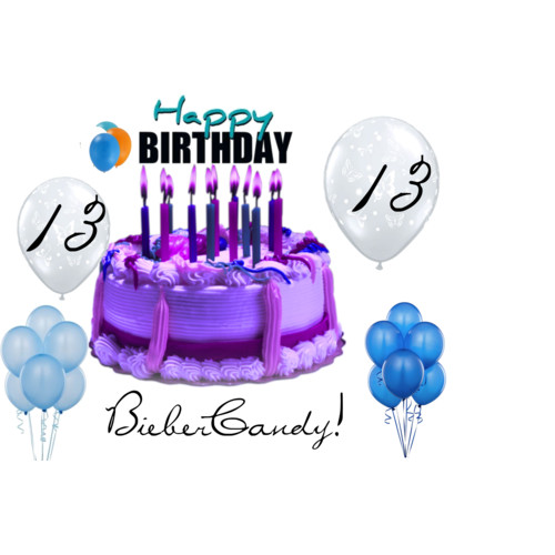 Happy 13th Birthday Biebercandy    Polyvore