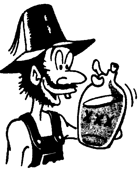 Hillbilly With Moonshine   Http   Www Wpclipart Com People Male