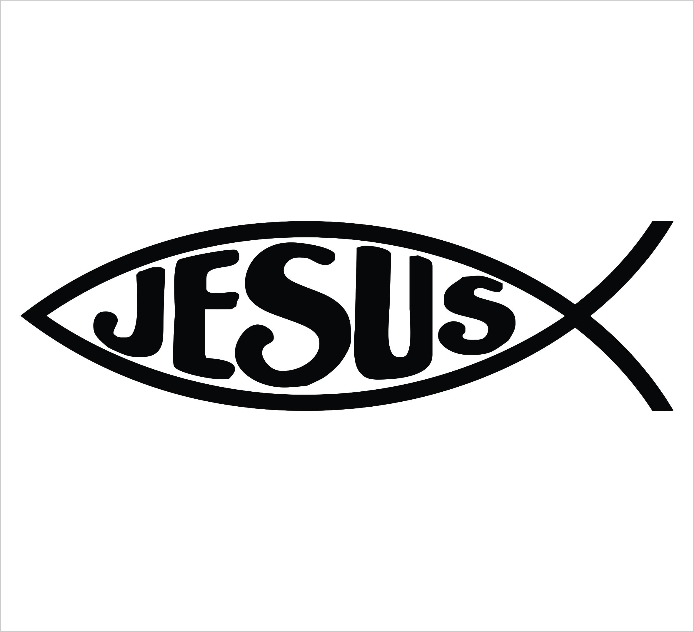 Jesus fish clipart clipart suggest for Jesus fish symbol