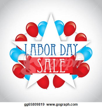 Labor Day Over Gray Background Vector Illustration   Clipart