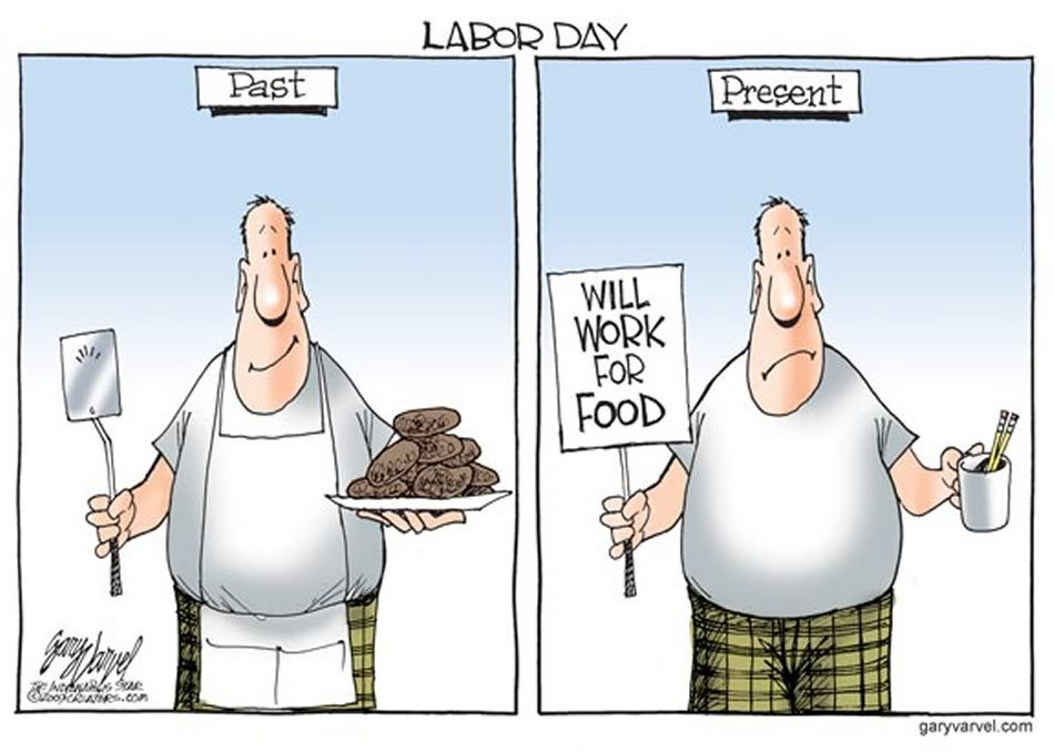 Labor Days Past Compared To The Bleak Us Labor Market Of Today  Not So