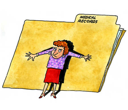 Medical Records Clip Art