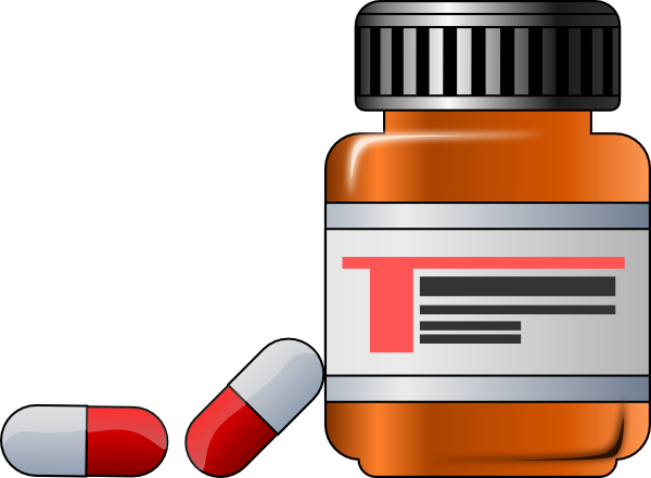 Pharmacy Bottle Clipart - Clipart Kid