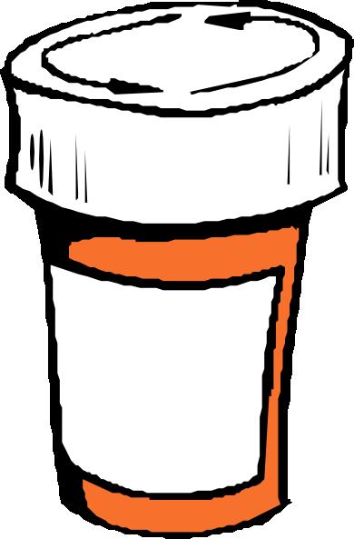 Pharmacy Bottle Clip Art Clip Art