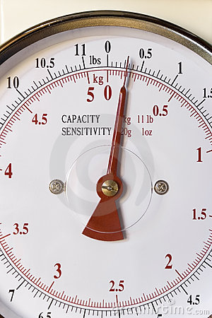 Royalty Free Stock Photos  Weighing Scales Dial
