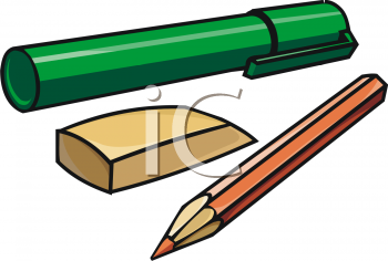 Ruler Pencil Eraser Clipart   Cliparthut   Free Clipart