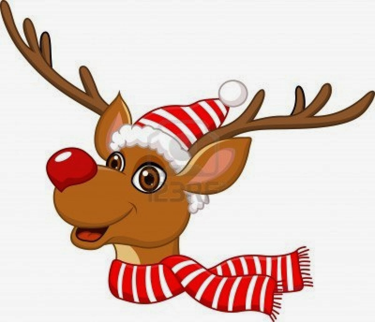 Clip Art Reindeer Clipart Free santa sleigh and reindeer clipart kid pictures png