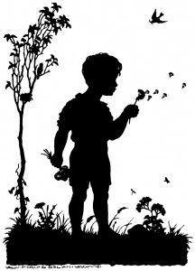 Silhouette On Pinterest   Blowing Bubbles Big Books And Photo