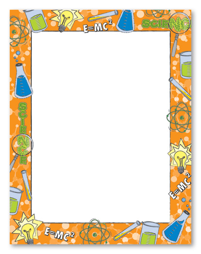 Science Page Borders Clipart - Clipart Kid