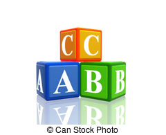 Abc Clipart And Stock Illustrations  44084 Abc Vector Eps