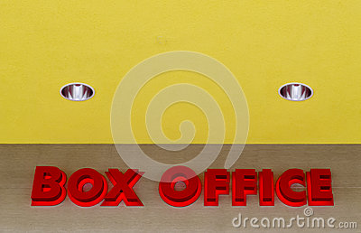Box Office Stock Image   Image  35610691