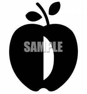 Teachers Apple Silhouette