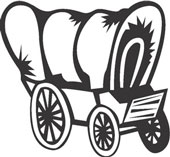 Covered Wagon Clipart   Cliparthut   Free Clipart