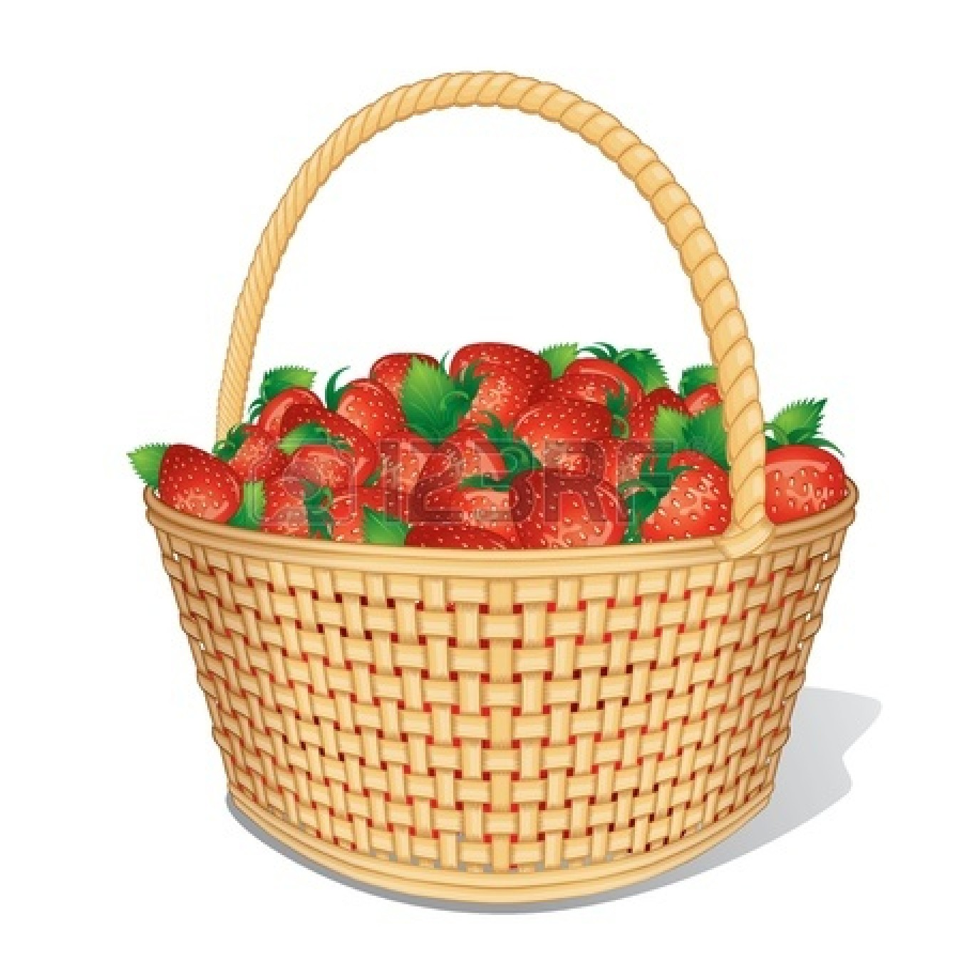 Empty basket christmas clipart clipart suggest for Clipart basket