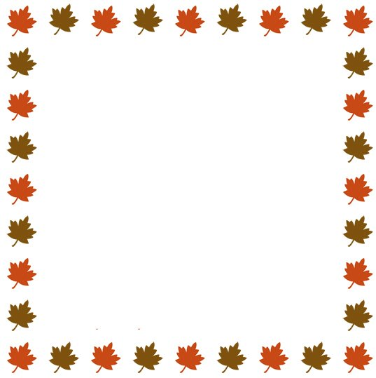 Autumn Leaves Borders Clipart - Clipart Kid