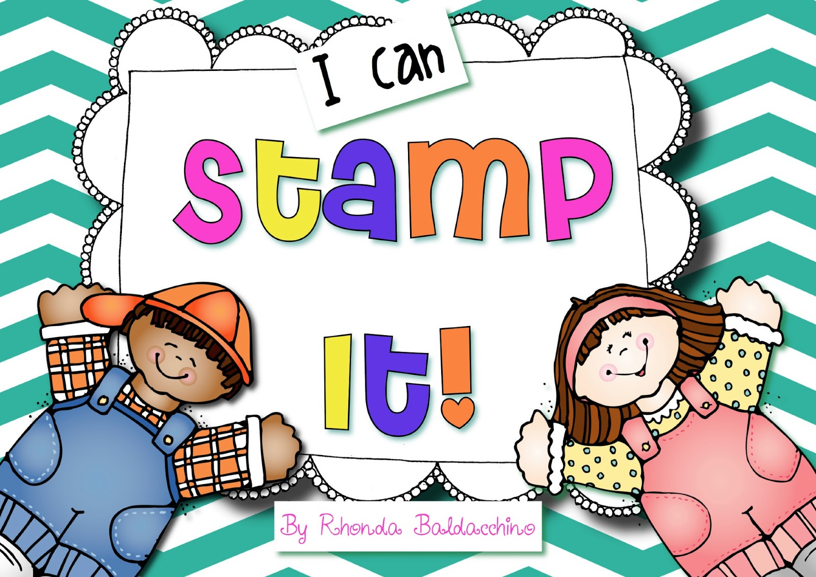 Letter Stamp Clipart Kids Love To Stamp