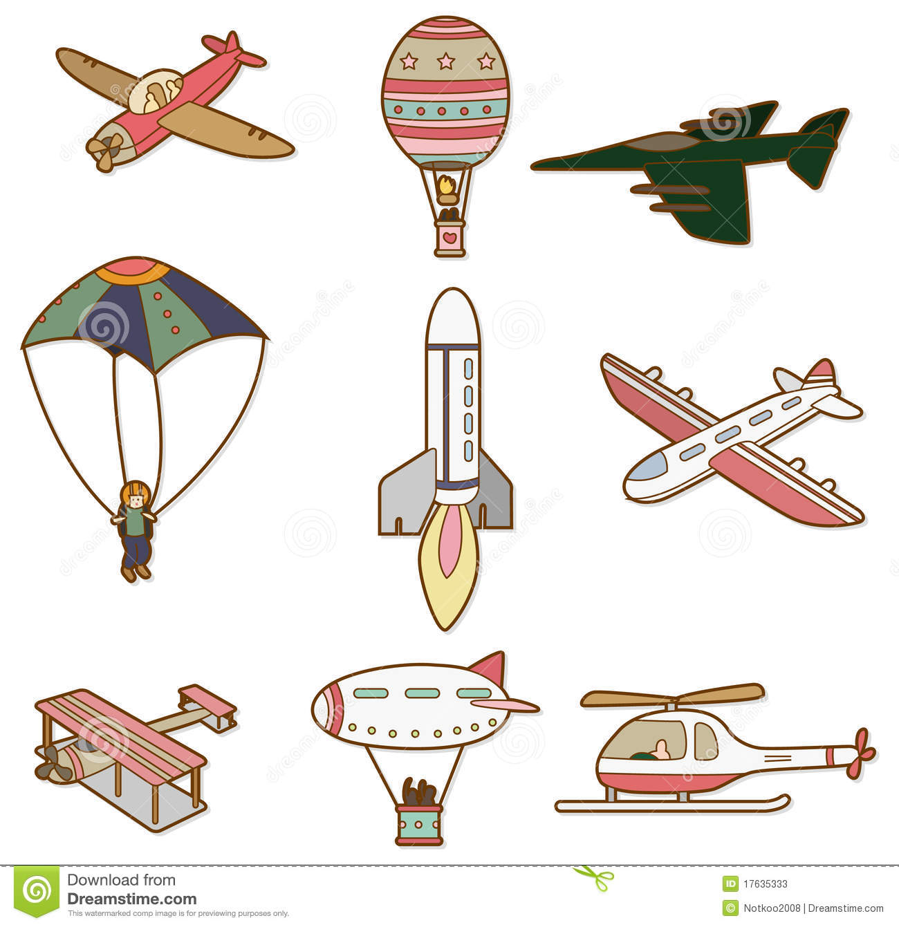 More Similar Stock Images Of   Cartoon Air Transport Icon