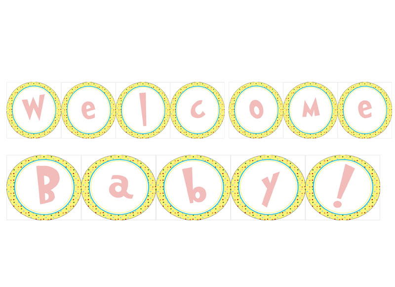 Welcome Baby Girl Clipart - Clipart Kid