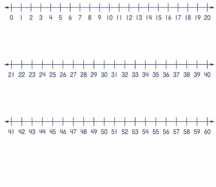 Number Line Worksheets : blank number line worksheets 0-10 Blank ...
