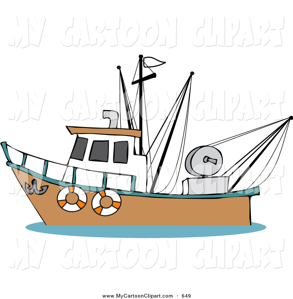 Old Fishing Boats Clip Art Http   Mycartoonclipart Com Design Clip Art