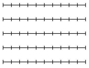 Printable Blank Number Line Clipart Best