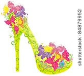 Shoe Clip Art Vector High Heeled Shoe   1000 Graphics   Clipart Me