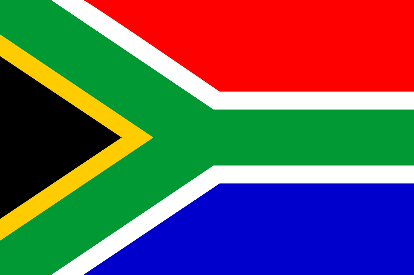 South Africa Flag Drapeau Bandiera Bandeira Flagga Scallywag Flag