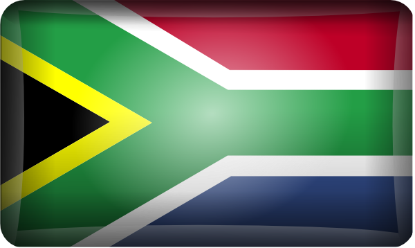 South African Flag Clip Art At Clker Com   Vector Clip Art Online