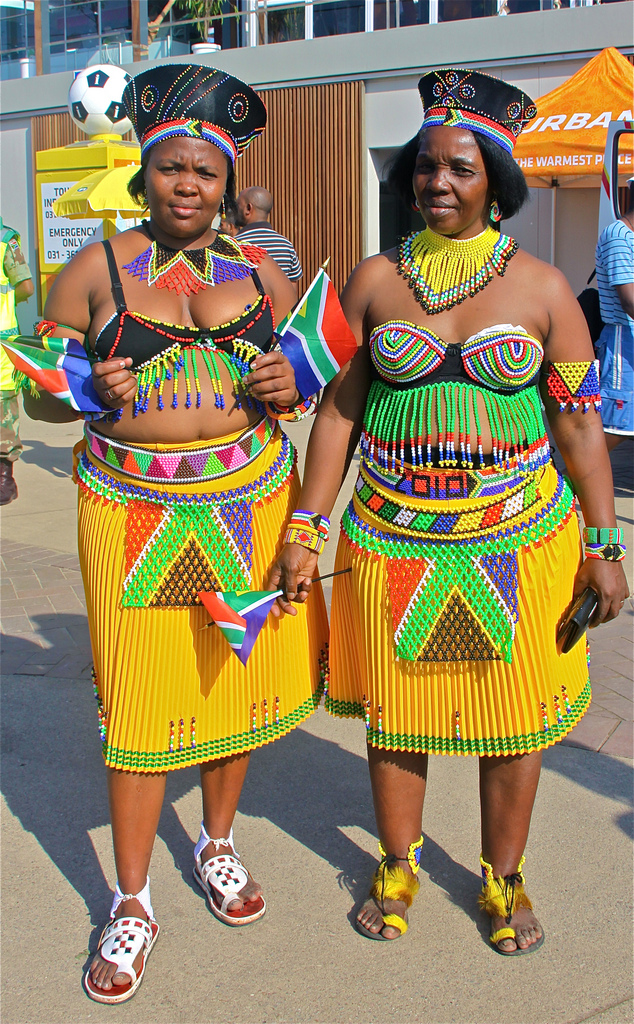 View Fullsize More Zulu Women Supporting South Africa At The World Cup