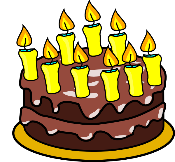 9th Birthday Cake Clip Art At Clker Com   Vector Clip Art Online