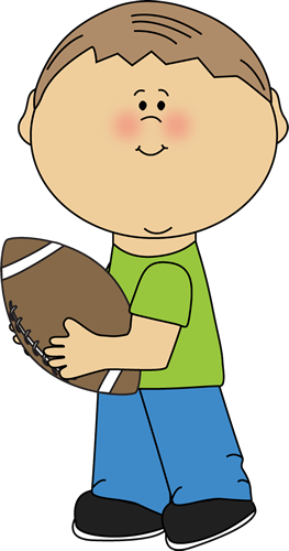 Boy Child Playing Football Clip Art Royalty Free Clipart Vector