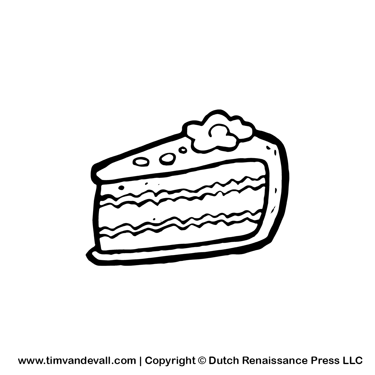 Slice Of Cake Clipart Image : Birthday Cake Slice Clipart - Clipart Suggest