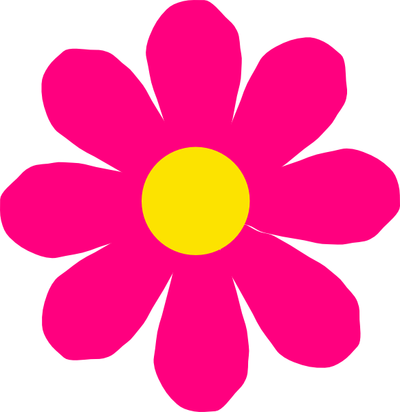 Clip Art Pink Flower Clipart pink flowers clipart kid panda free images