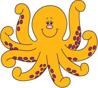 Cute Baby Octopus Clipart   Clipart Panda   Free Clipart Images