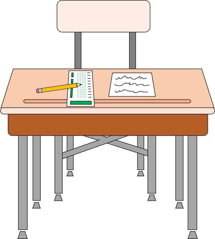 Student Desk Clipart Clipart Suggest