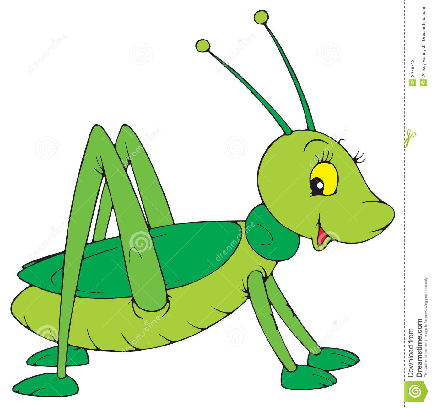 Cute Cricket Insect Clipart - Clipart Suggest