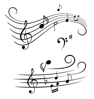 Music Notes Vector By Soleilc   Image  223359   Vectorstock