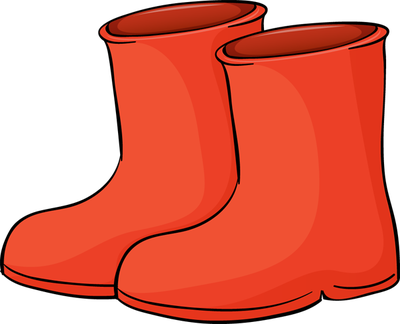 Red Rain Boots Clipart Boots Png
