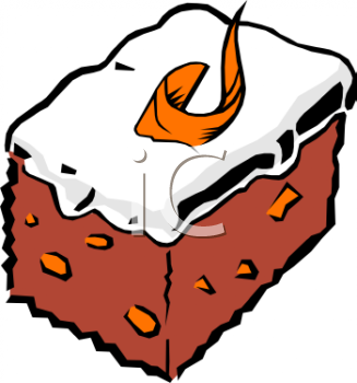 Royalty Free Clipart Of Cake