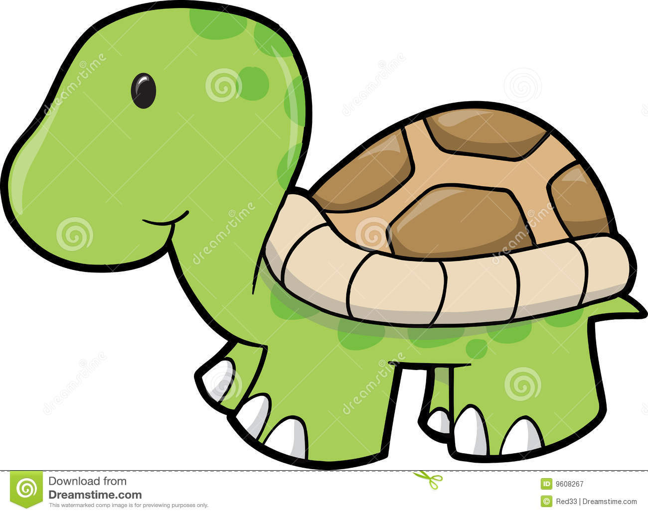 Cute Turtle Black And White Clipart - Clipart Suggest
