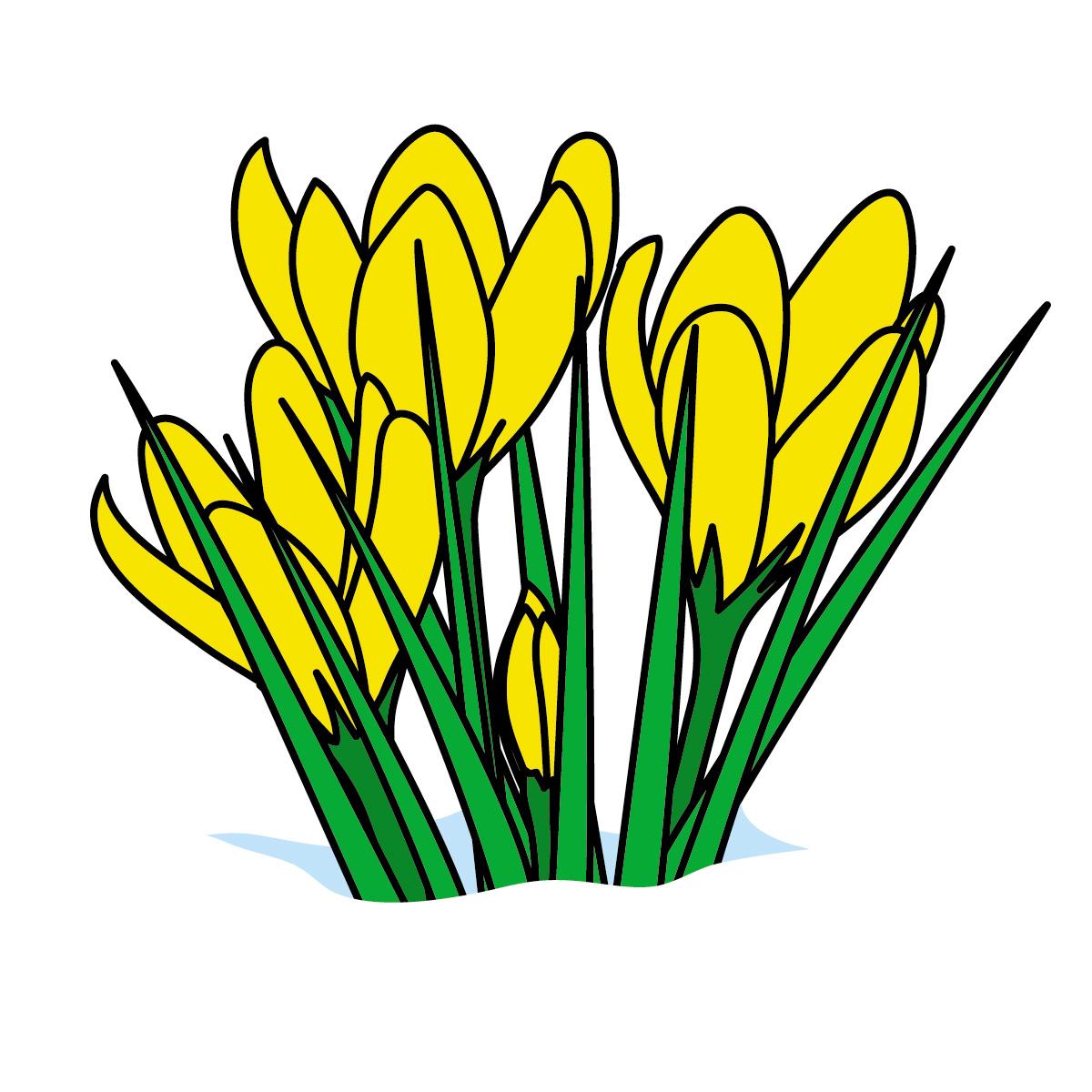 Spring Clip Art Spring Flower Clipart Jpg