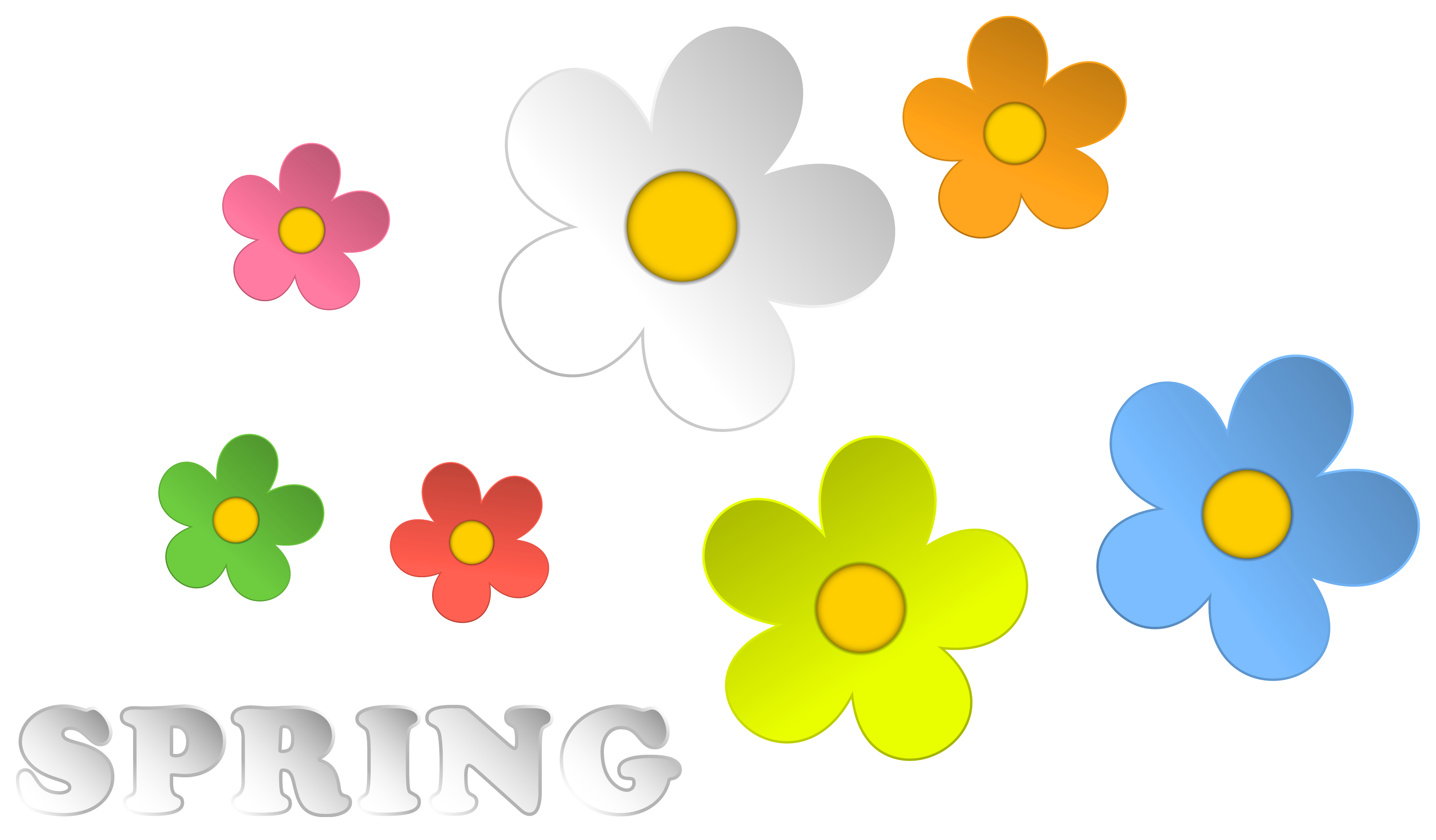 Flowers Border Clipart - Clipart Kid