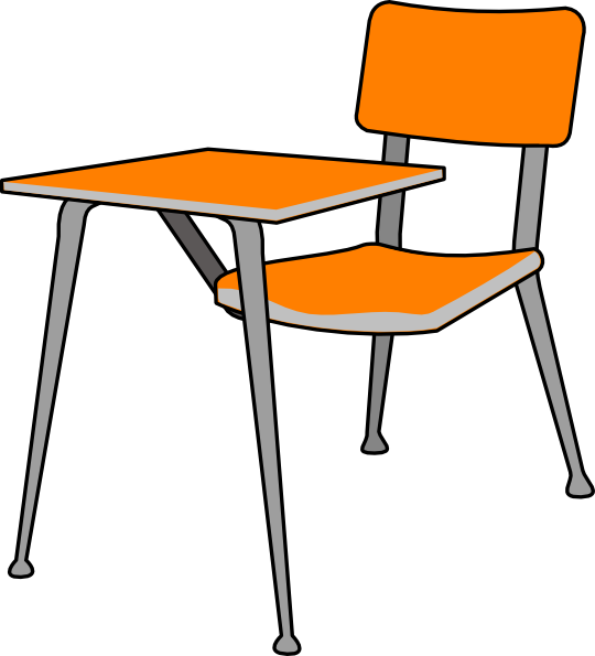 Student Desk Clipart Clipart Suggest