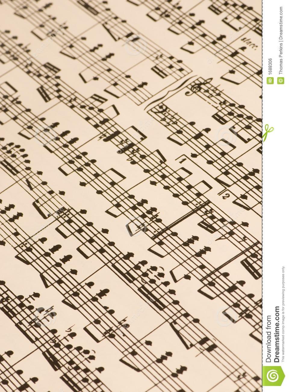 Music Score Clipart - Clipart Suggest