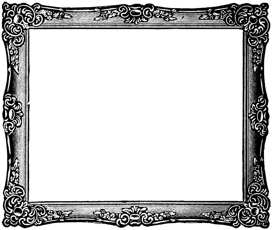 free victorian clip art frames - photo #16