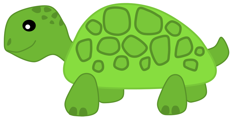 You Can Use This Cute Cartoon Turtle Clip Art On Your Commercial Or